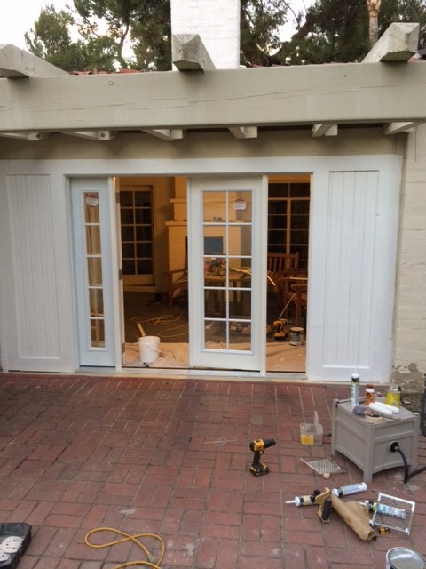 Replacement Rear Entry Doors At 534 Keystone Ian Brenner Construction